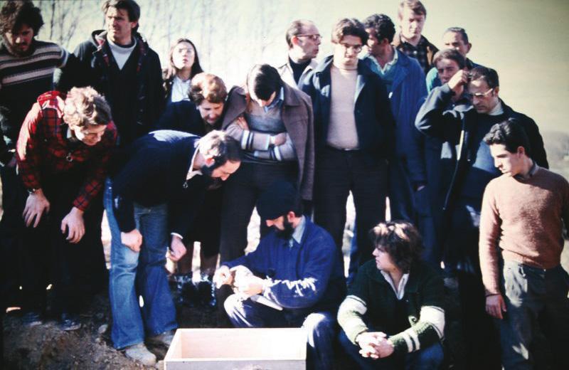 Exhumación de los de Larraga en 1978